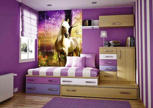 фотообои лошади на стену