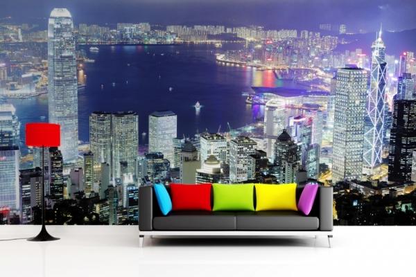 фотообои мегаполис Гонконг