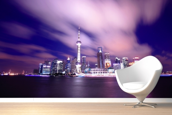 фотообои мегаполис Шанхай