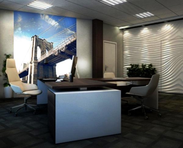 фотообои мост в интерьере фото