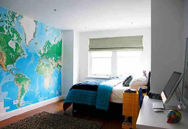 фотообои на стену карта мира