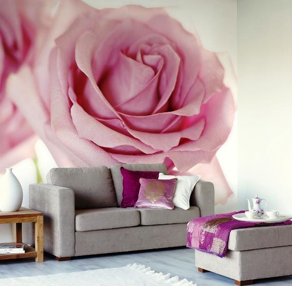 фотообои нежная роза