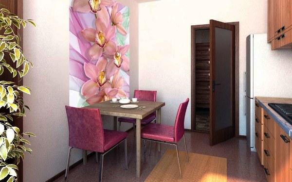 фотообои орхидеи на кухню фото
