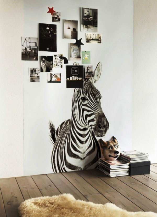 фотообои зебра
