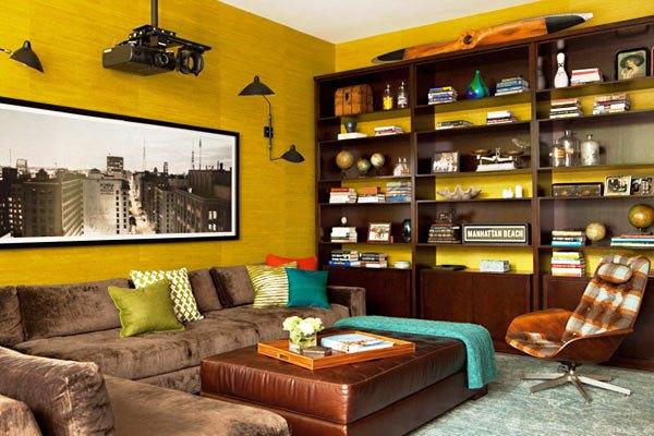 фотообои архитектура в гостиной