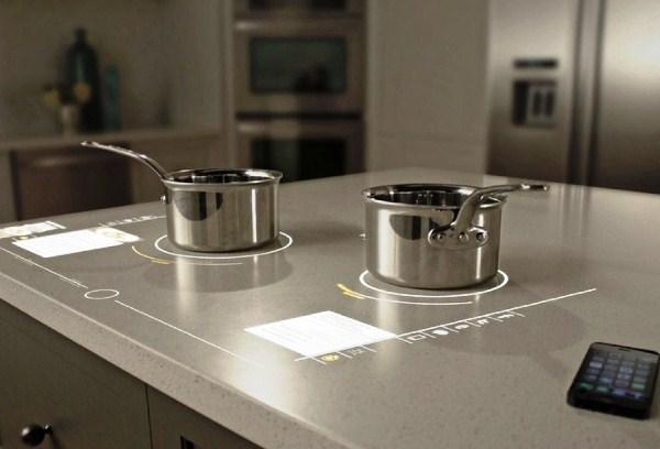 сенсорная кухонная плита
