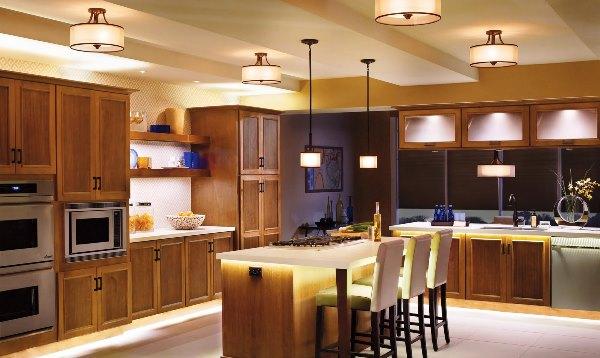 светодиодные светильники для кухни фото 4