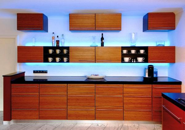 светодиодные светильники для кухни фото 5