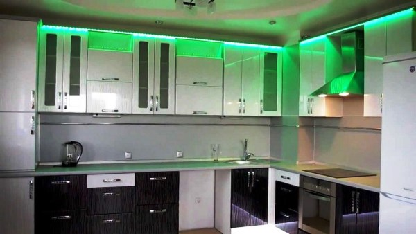 светодиодные светильники для кухни фото 6