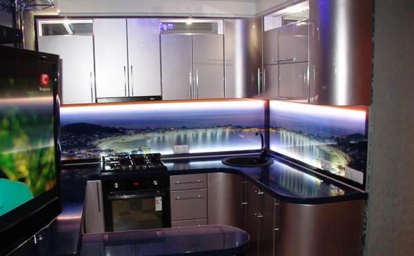 светодиодные светильники для кухни фото 7