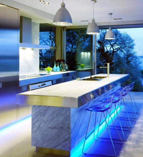 светодиодные светильники для кухни фото 9