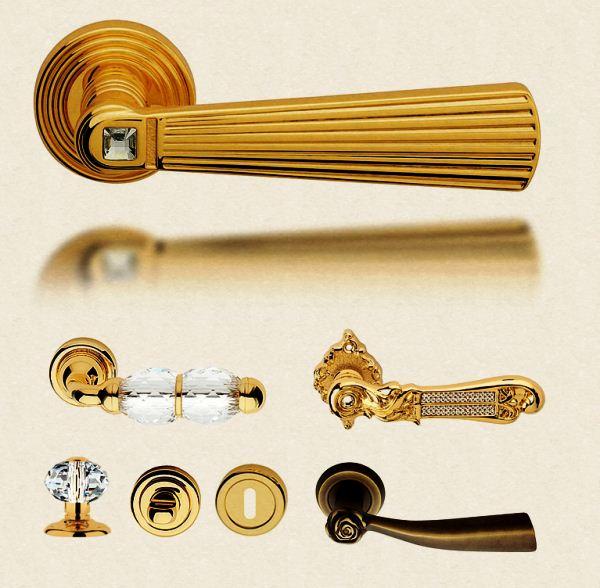 виды дверных ручек