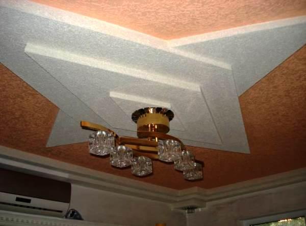 декоративная штукатурка для потолка фото 4