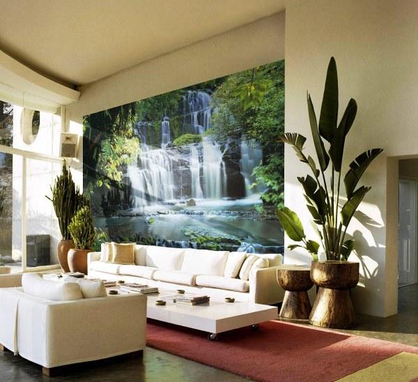 фотообои водопад фото