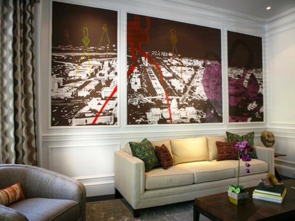 интерьер комнат с фотообоями фото 3