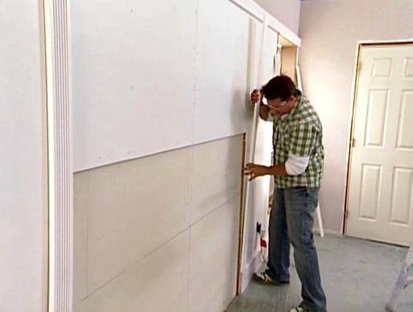 отделка коридора мдф панелями фото