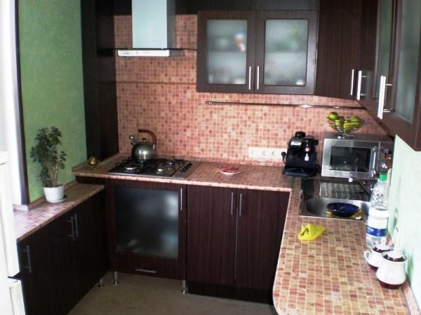 отделка кухни панелями мдф фото