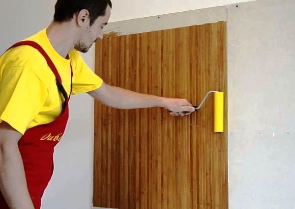 отделка стен пробкой своими руками 4