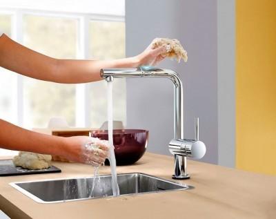 смеситель для кухни сенсорный