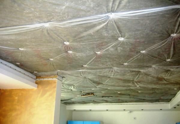 шумоизоляция под натяжной потолок 2