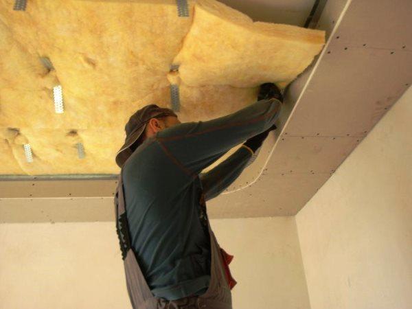 шумоизоляция под натяжной потолок 6