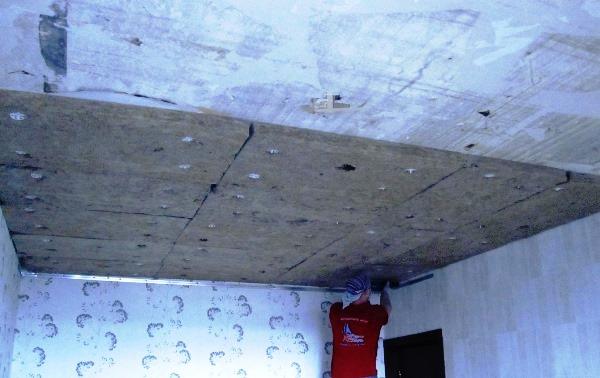 шумоизоляция под натяжной потолок 8