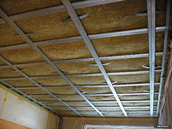 шумоизоляция под натяжной потолок 9