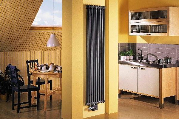 вертикальные высокие радиаторы отопления