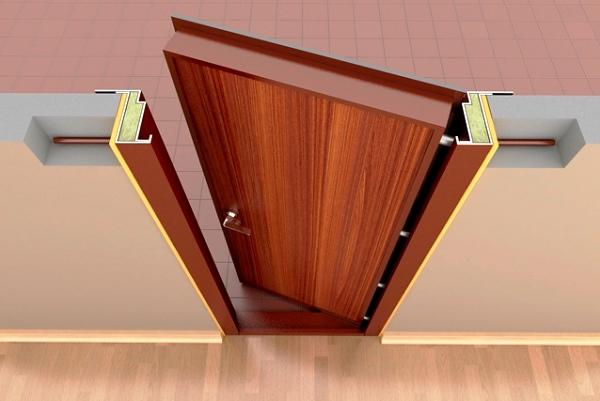 закрепление дверной коробки