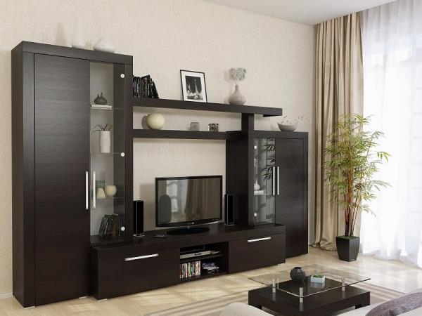 мебель венге сочетание обоев фото