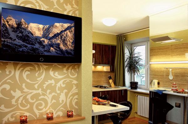 дизайн обоев для комнаты комбинированные 2 видов фото