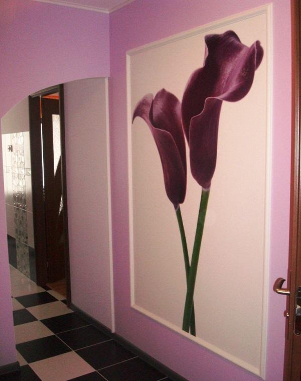 как скомбинировать обои в коридоре фото 3
