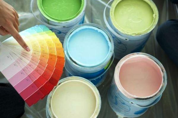краска для обоев под покраску фото