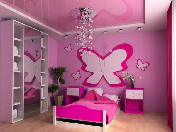 обои розового цвета фото 3
