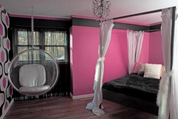 розовые обои фото 3
