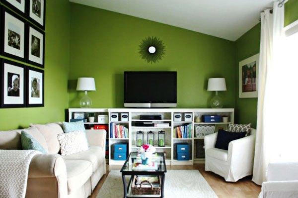 зеленые обои для стен фото