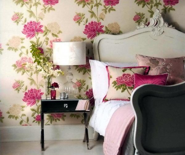 обои для стен с цветами фото