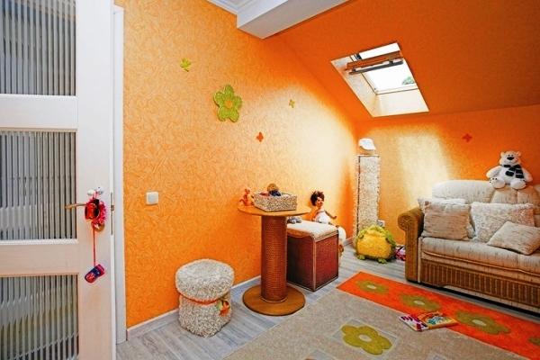 обои оранжевого цвета фото