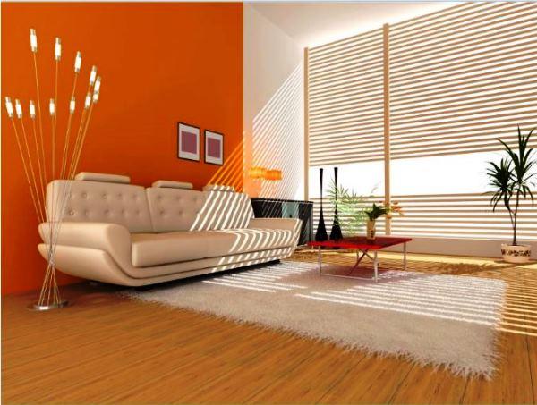 оранжевые обои фото 6
