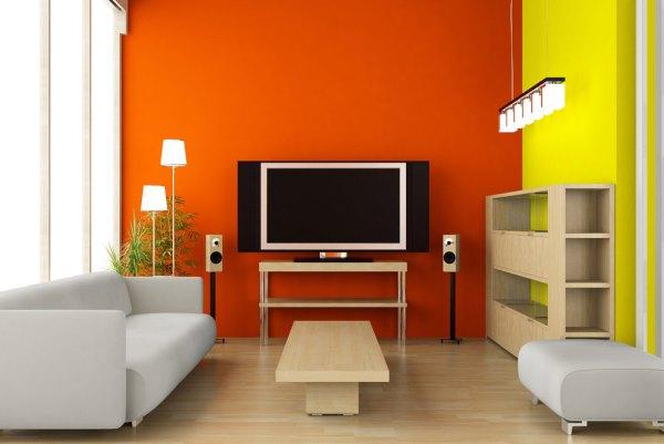 оранжевые обои фото 8