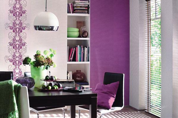 цвет обоев в интерьере фото 9