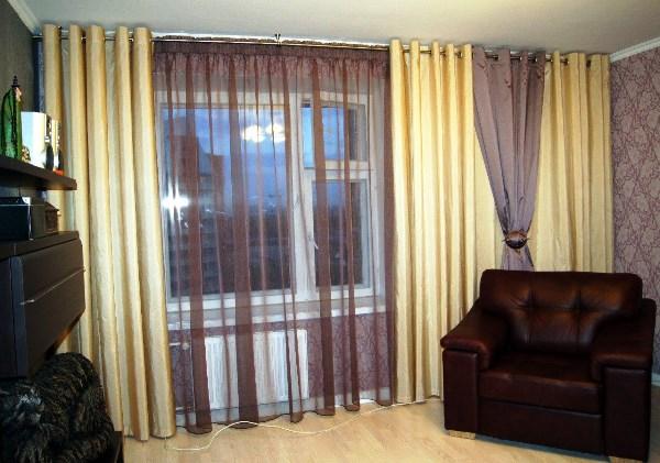 шторы под обои фото 3