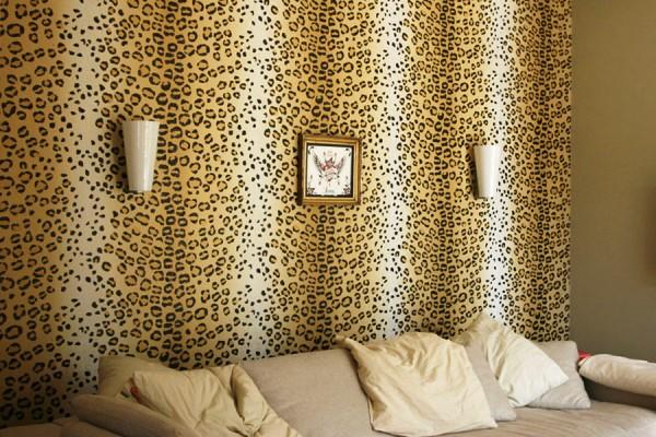леопардовые обои фото 11