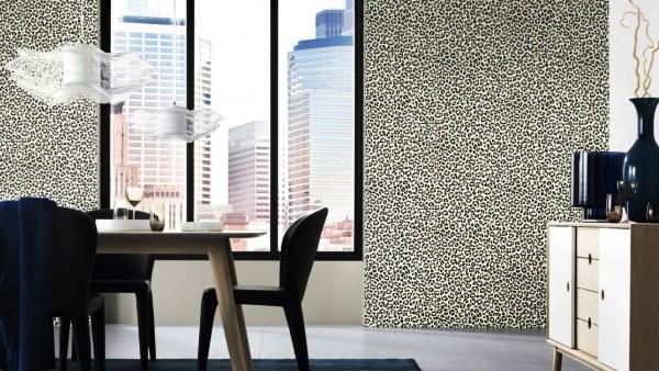 леопардовые обои фото 3