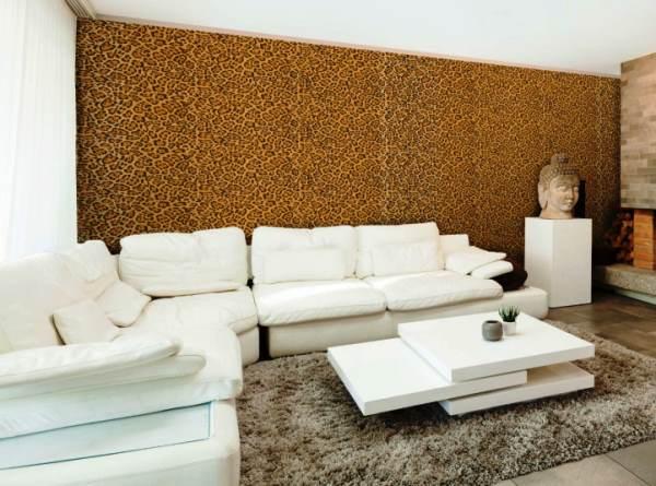 леопардовые обои фото 7