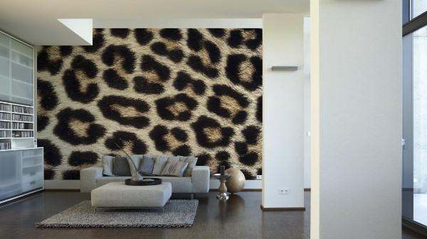леопардовые обои фото 8