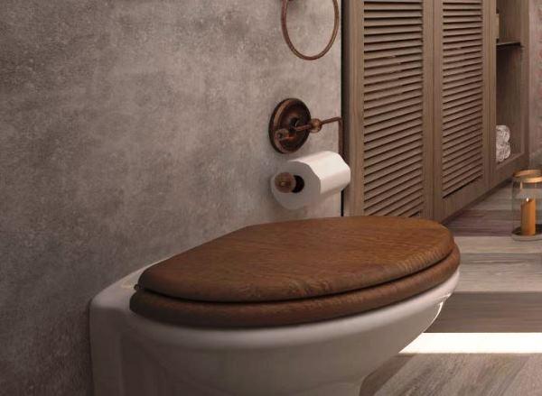 фото жидких обоев в туалете