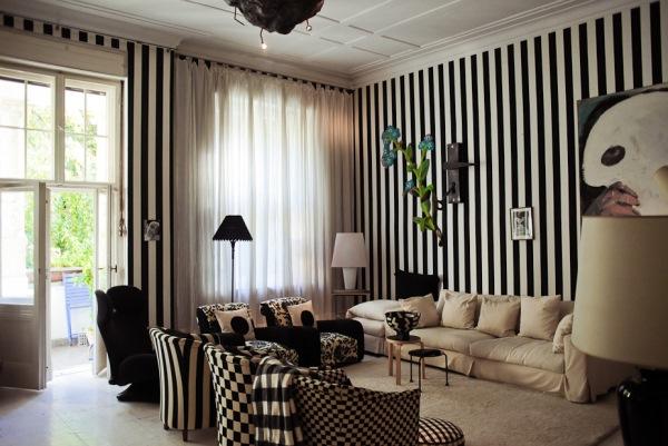 красивые обои для зала в квартире фото