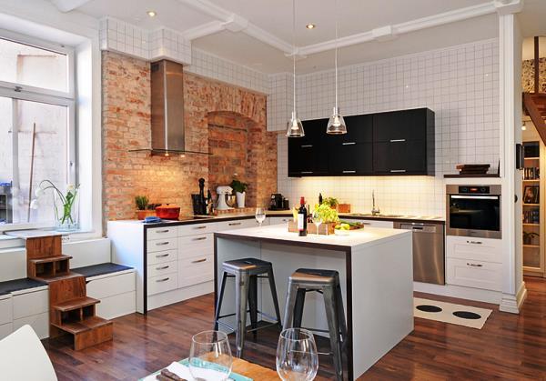 обои для кухни фото 2014 для маленькой кухни