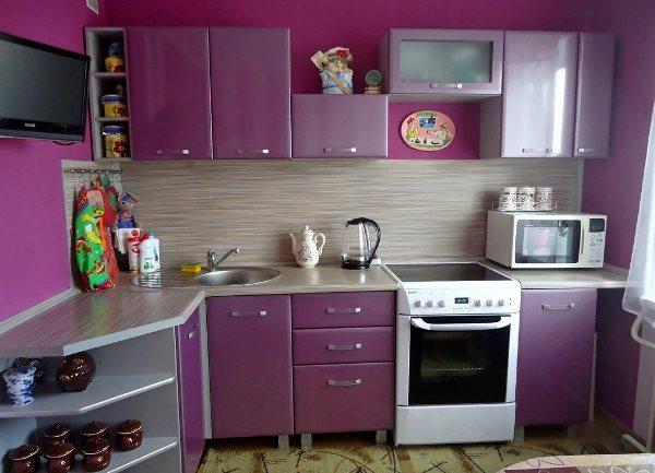 Обои для кухни фото 2015 для маленькой кухни в хрущевке фото